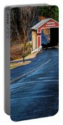 Slate Covered Bridge Portable Battery Charger