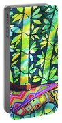 Sleep To Dream Silkpainting Belize Portable Battery Charger