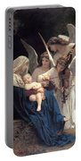 Sleeping Baby Jesus Portable Battery Charger