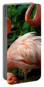 Sleeping Flamingo Portable Battery Charger