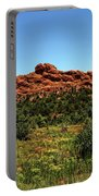 Sleeping Giant At The Garden Of The Gods Portable Battery Charger