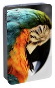 Sleeping Macaw Portable Battery Charger