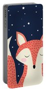 Sleepy Fox Portable Battery Charger