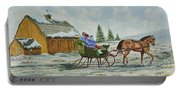 Sleigh Ride Portable Battery Charger
