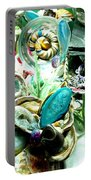 Sliced Agate Coral To No Maintenance Aquariumn Portable Battery Charger