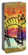 Slinky Cat Portable Battery Charger