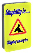 Slippping Bigstock Donkey 171252860 Portable Battery Charger