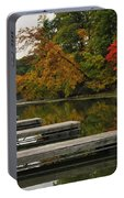 Slips In Autumn Portable Battery Charger