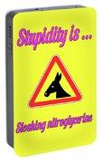 Sloshing Bigstock Donkey 171252860 Portable Battery Charger