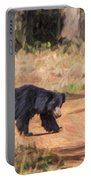Sloth Bear Melursus Ursinus Portable Battery Charger