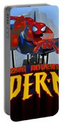 Spider Man Ride Sign.  Portable Battery Charger