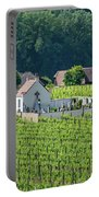 Small Austrian Cemetery  Portable Battery Charger