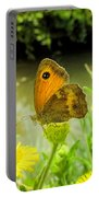 Small Heath Butterfly Portable Battery Charger