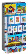 Small Paintings For Sale In La Boca Area Of Buenos Aires-argentina  Portable Battery Charger