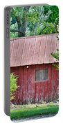 Small Red Barn - Lewes Delaware Portable Battery Charger