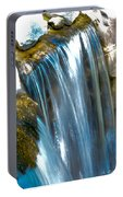 Small Stop Motion Waterfall Portable Battery Charger