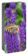Small Tortoiseshell Portable Battery Charger
