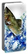 Smallmouth Bass Portable Battery Charger