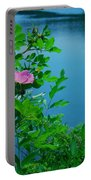 Smell The Roses Portable Battery Charger