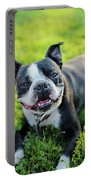 Smiling Dog Portable Battery Charger