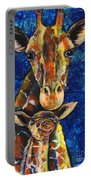 Smiling Giraffes Portable Battery Charger