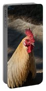 Smiling Rooster Portable Battery Charger