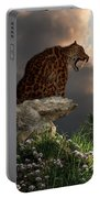 Smilodon Californicus Lookout Portable Battery Charger