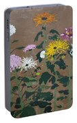 Smith's Giant Chrysanthemums Portable Battery Charger
