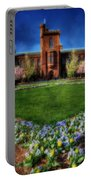 Spring Blooms In The Smithsonian Castle Garden Portable Battery Charger