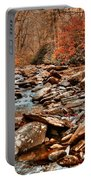Smokey Mountain Streams And Fall Foilage 2 Portable Battery Charger