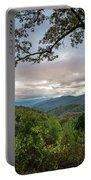 Smokey Mountain Sunset Portable Battery Charger