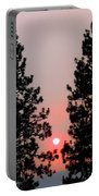 Smokey Okanagan Sunset Portable Battery Charger