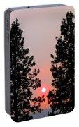 Smokey Okanagan Sunset Portable Battery Charger