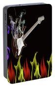 Smoking Guitar Portable Battery Charger