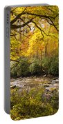 Smoky Autumn Portable Battery Charger