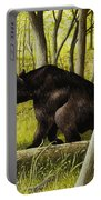Smoky Mountain Bear Portable Battery Charger