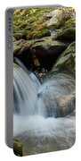 Flowing Stream #3, Smoky Mountains, Tennessee Portable Battery Charger