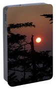 Smoky Mountain Sunset Portable Battery Charger