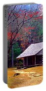 Smoky Mtn. Cabin Portable Battery Charger
