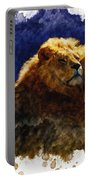 Smooching Lions Portable Battery Charger