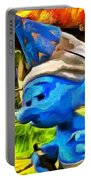 Smurfette And Friends - Pa Portable Battery Charger