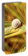 Snails On Wheat Portable Battery Charger