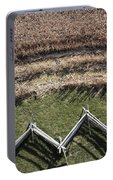 Snake-rail Fence And Cornfield Portable Battery Charger
