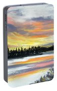 Snake River Sunset Portable Battery Charger