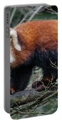 Sneaky Red Panda Portable Battery Charger