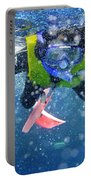 Snorkeling At The Great Barrier Reef Portable Battery Charger