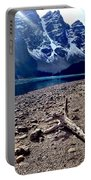 Snow Above Moraine Lake Portable Battery Charger