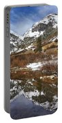 Snow-capped Refections Portable Battery Charger