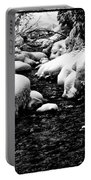 Snow Covered Banks Portable Battery Charger