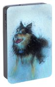 Snow Dog  Portable Battery Charger